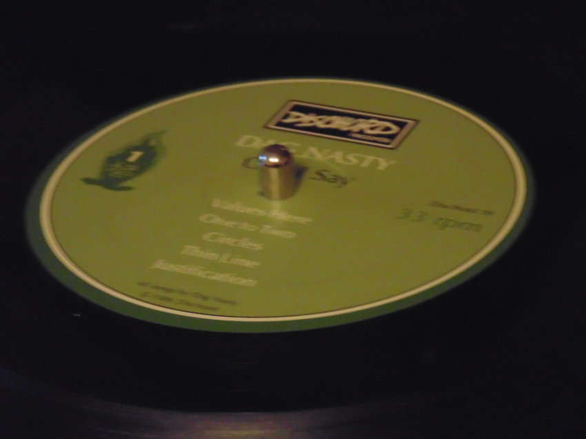 Dag Nasty - Can I say on vinyl record on my Sony Turntable